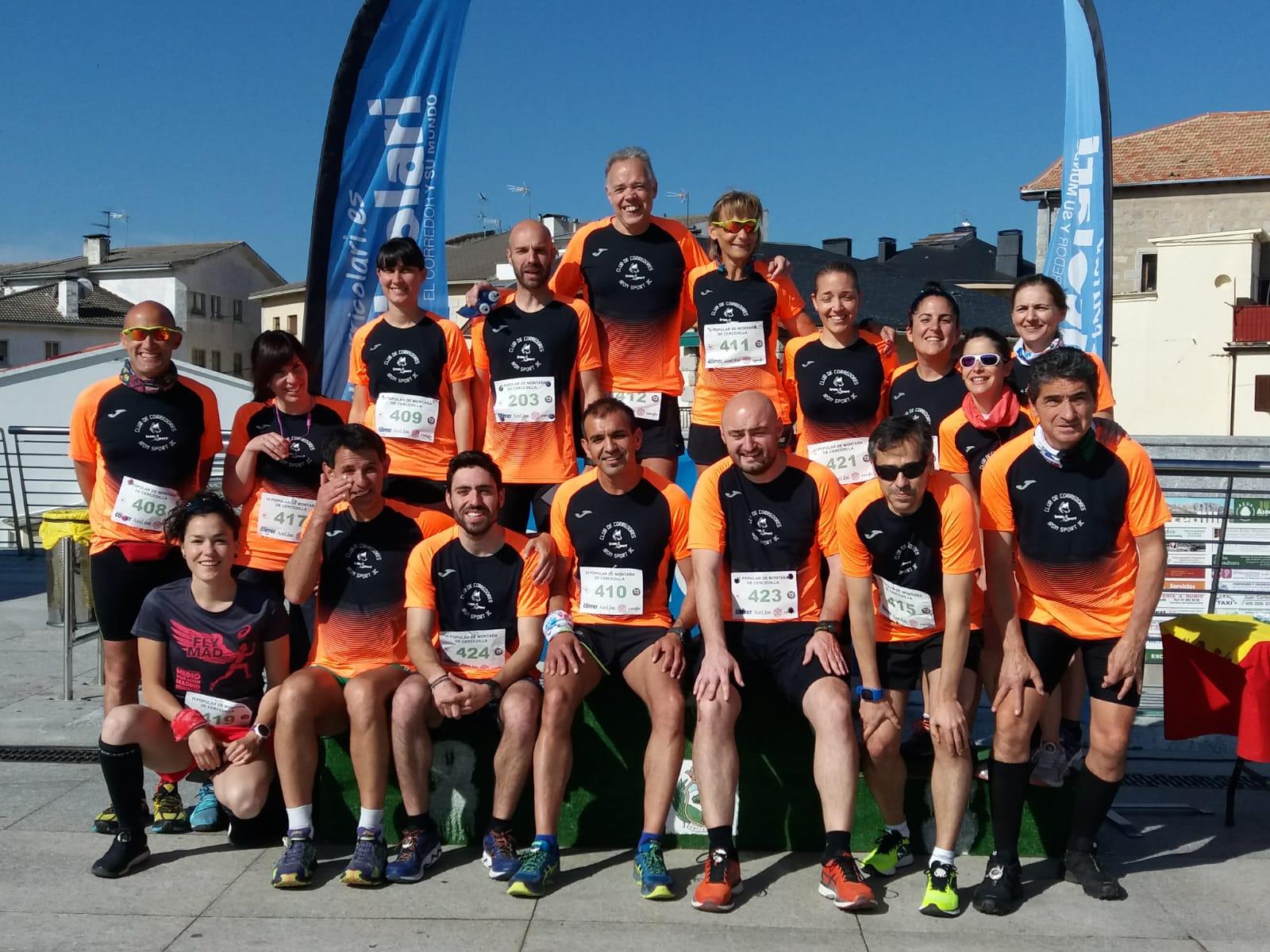 Integrantes del Club de Corredores Iron Sport