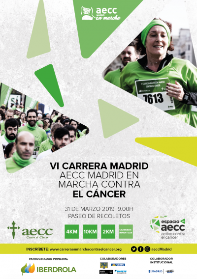 carrera contra el cancer 2019