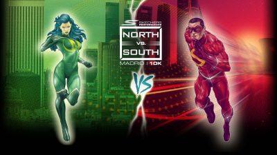 carrera norte vs sur 2019