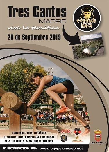 Egyptian Race Tres Cantos 2019