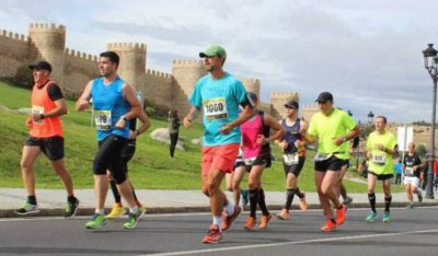 media maratón monumental ávila 2019