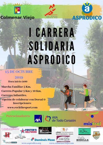 Carrera Solidaria Asprodico