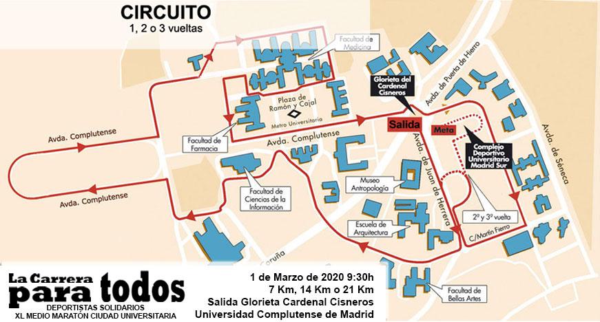 Media Ciudad Universitaria 2020